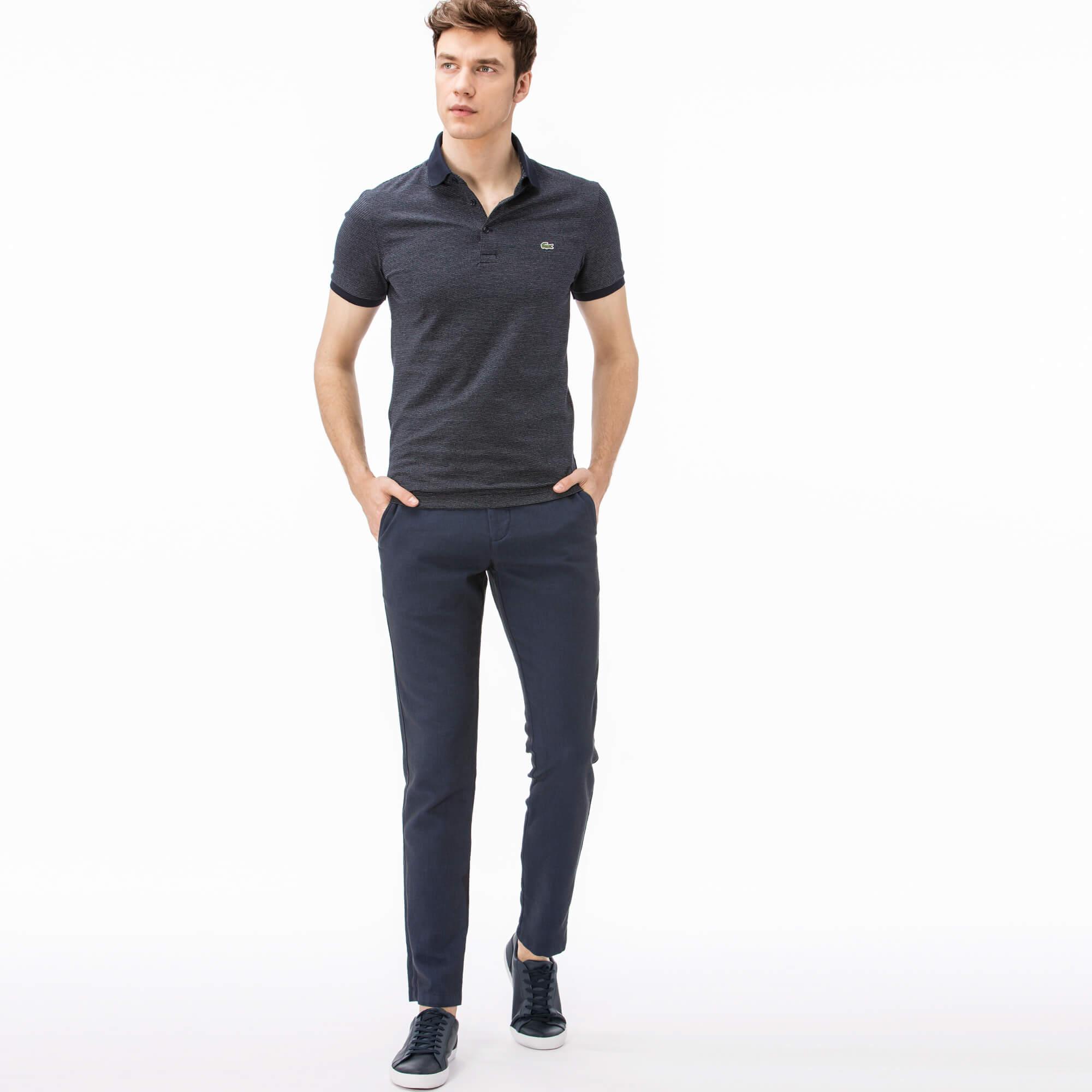 Брюки Lacoste Regular fitБрюки<br>Детали: стильные мужские брюки  \ Материал: 97% хлопок 3% эластан \ Страна производства: Турция