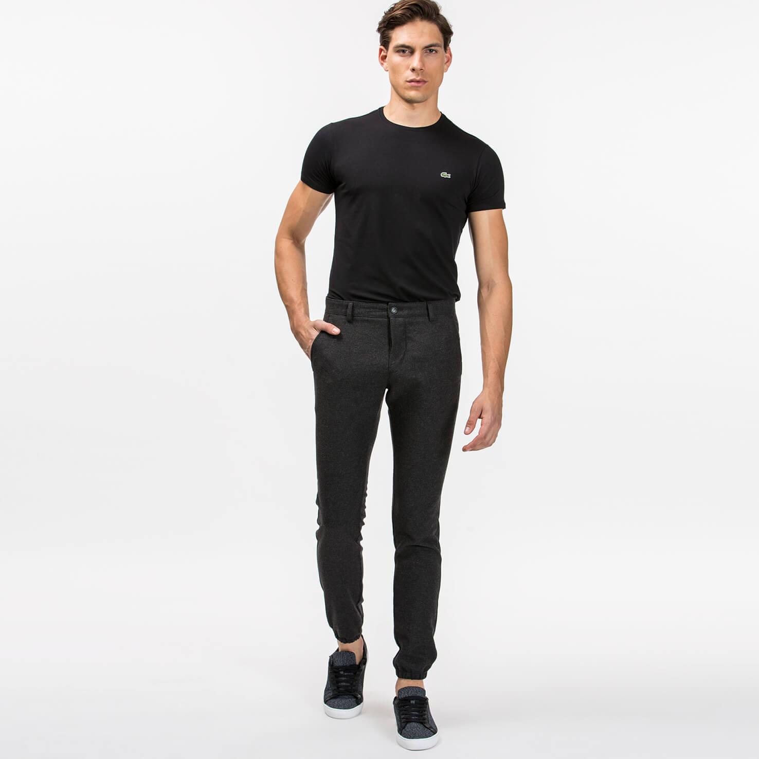 мужские брюки lacoste, белые
