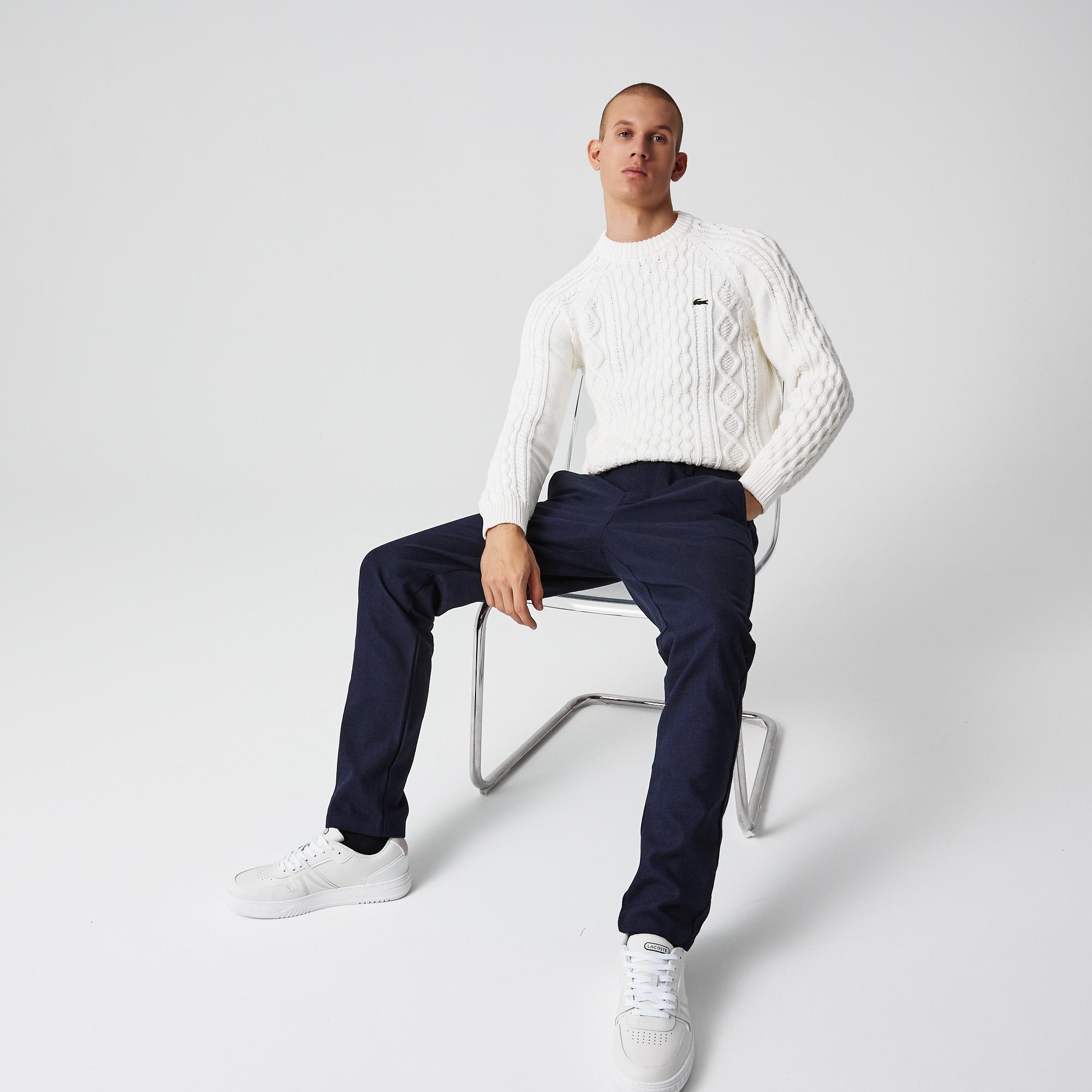 мужские брюки lacoste, черные