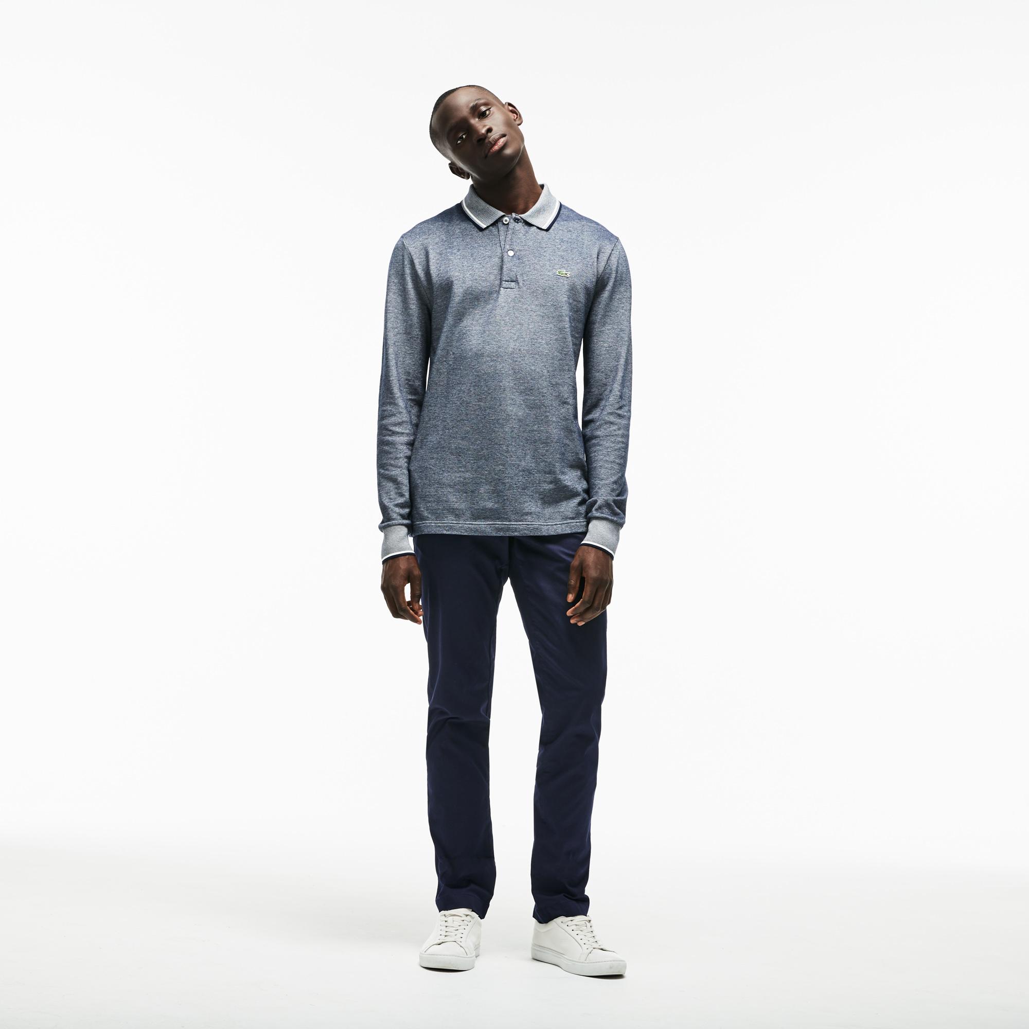 мужские брюки lacoste, синие