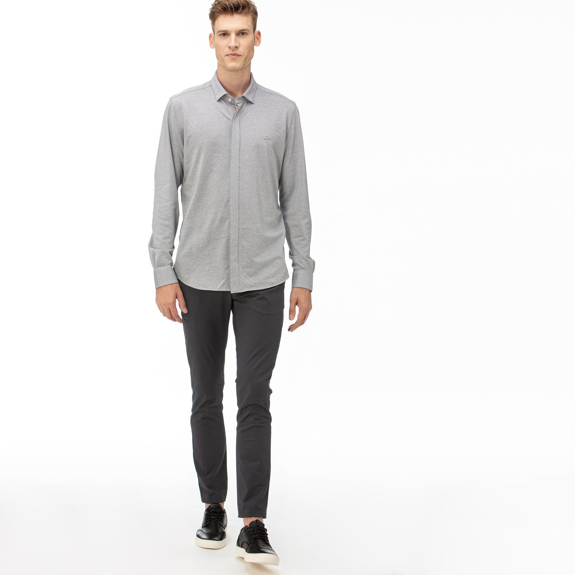мужские брюки lacoste, серые