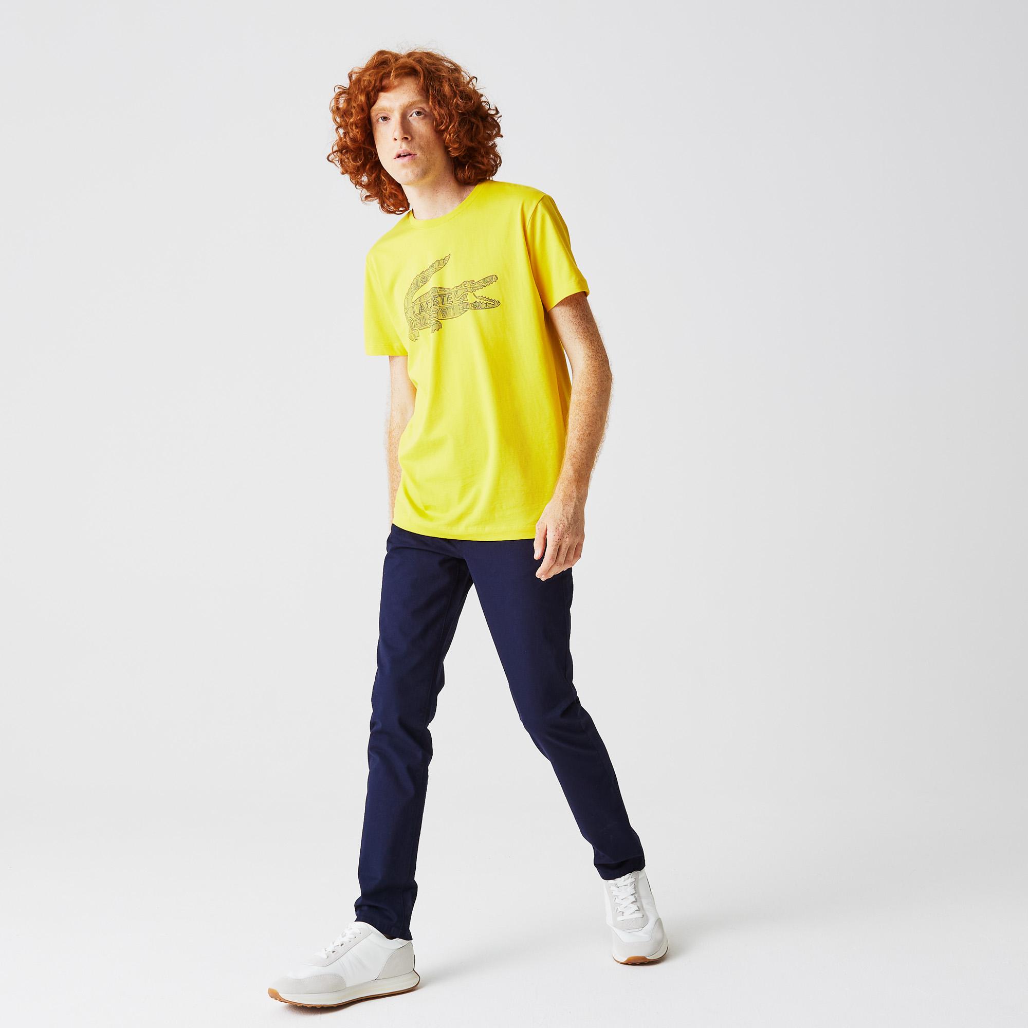 мужские джинсы lacoste, синие