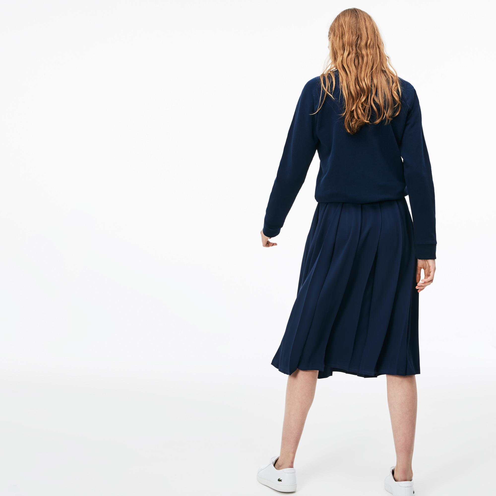 Фото 2 - Юбку Lacoste темно-синего цвета