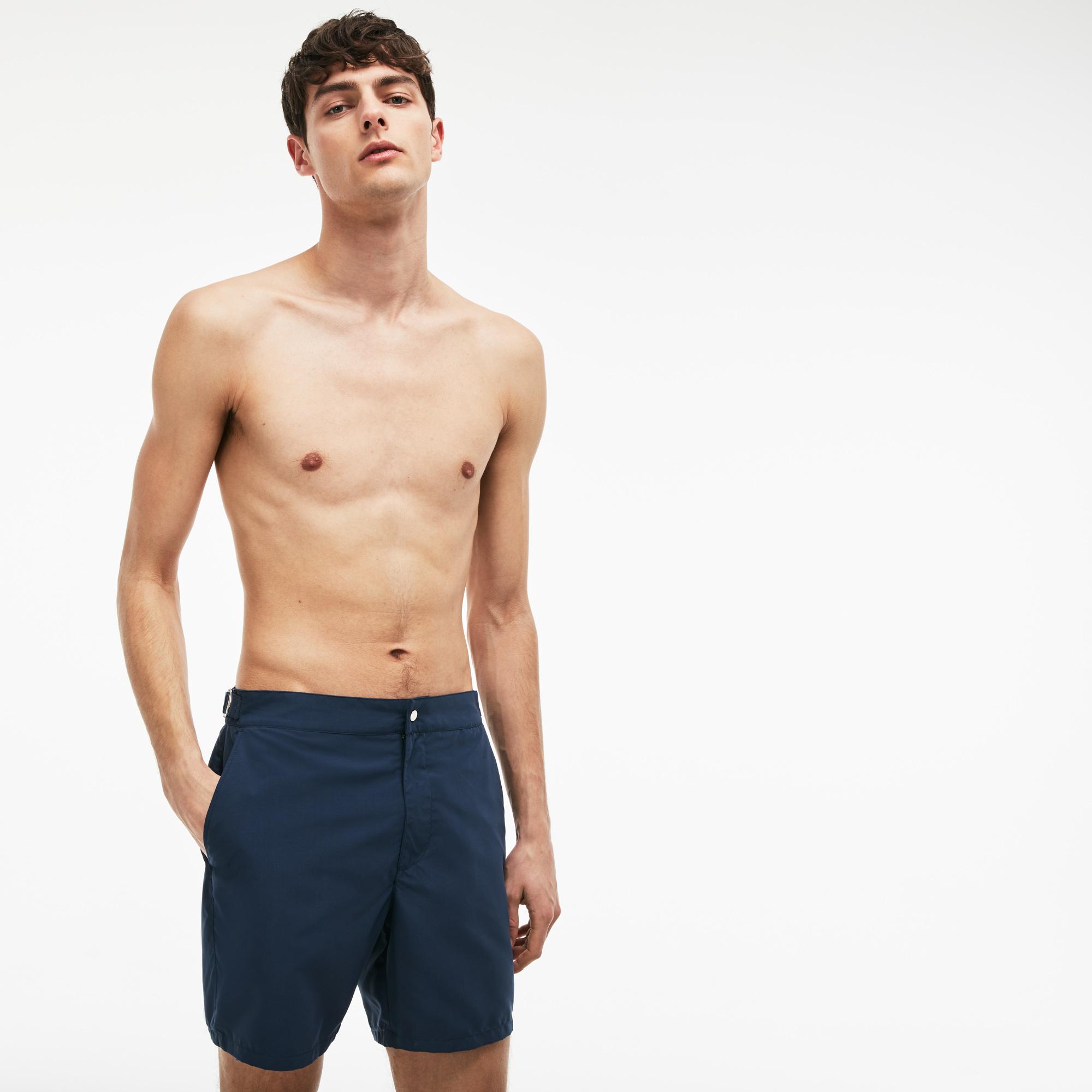 мужские шорты lacoste, синие