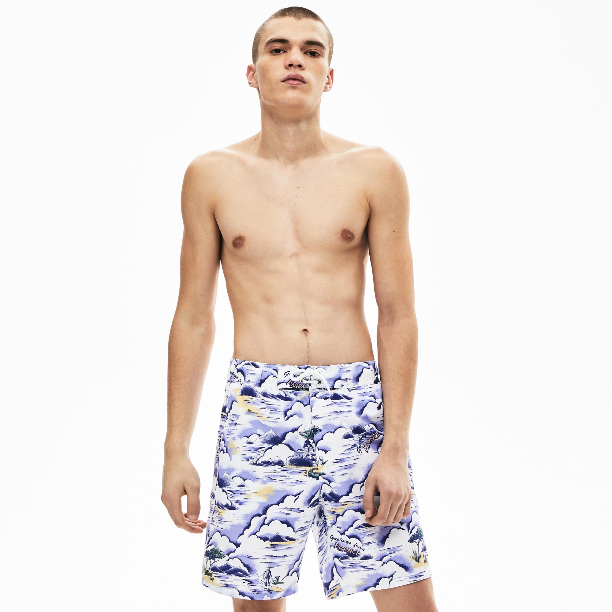мужские шорты lacoste, разноцветные