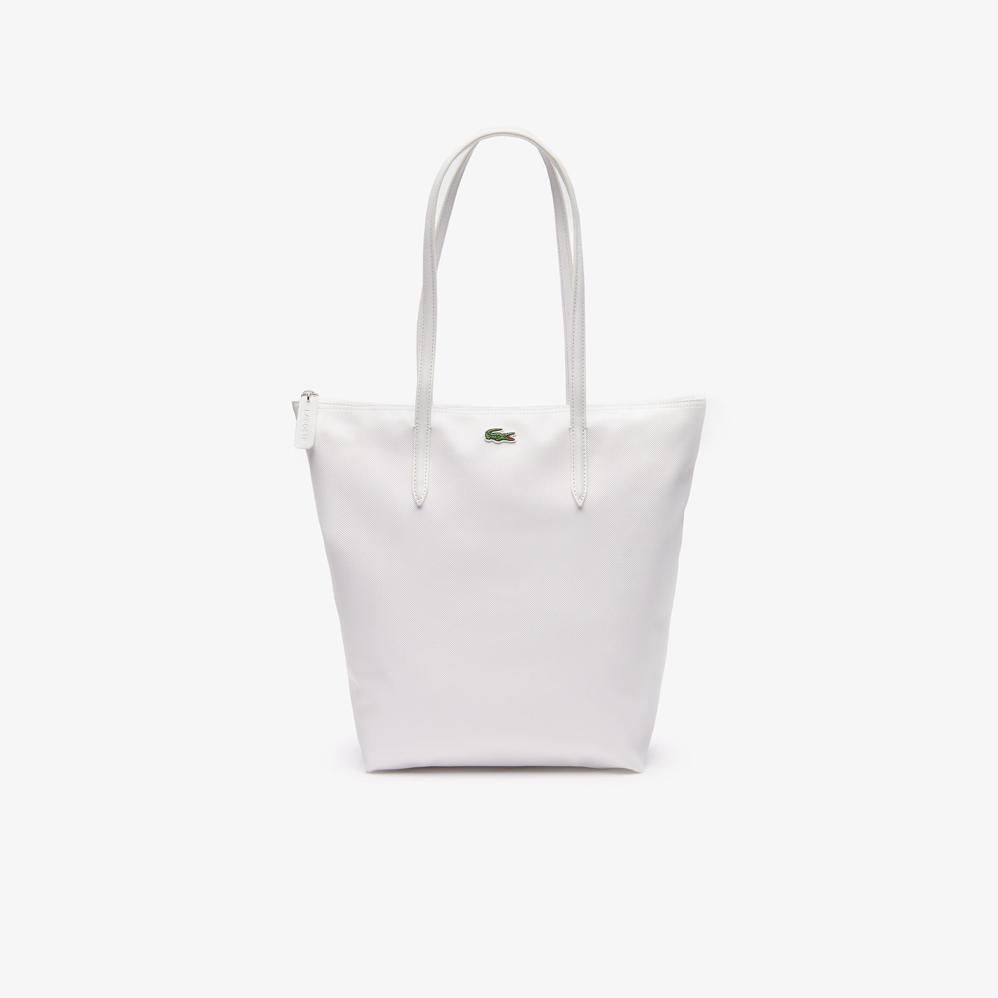 женская сумка lacoste, белая
