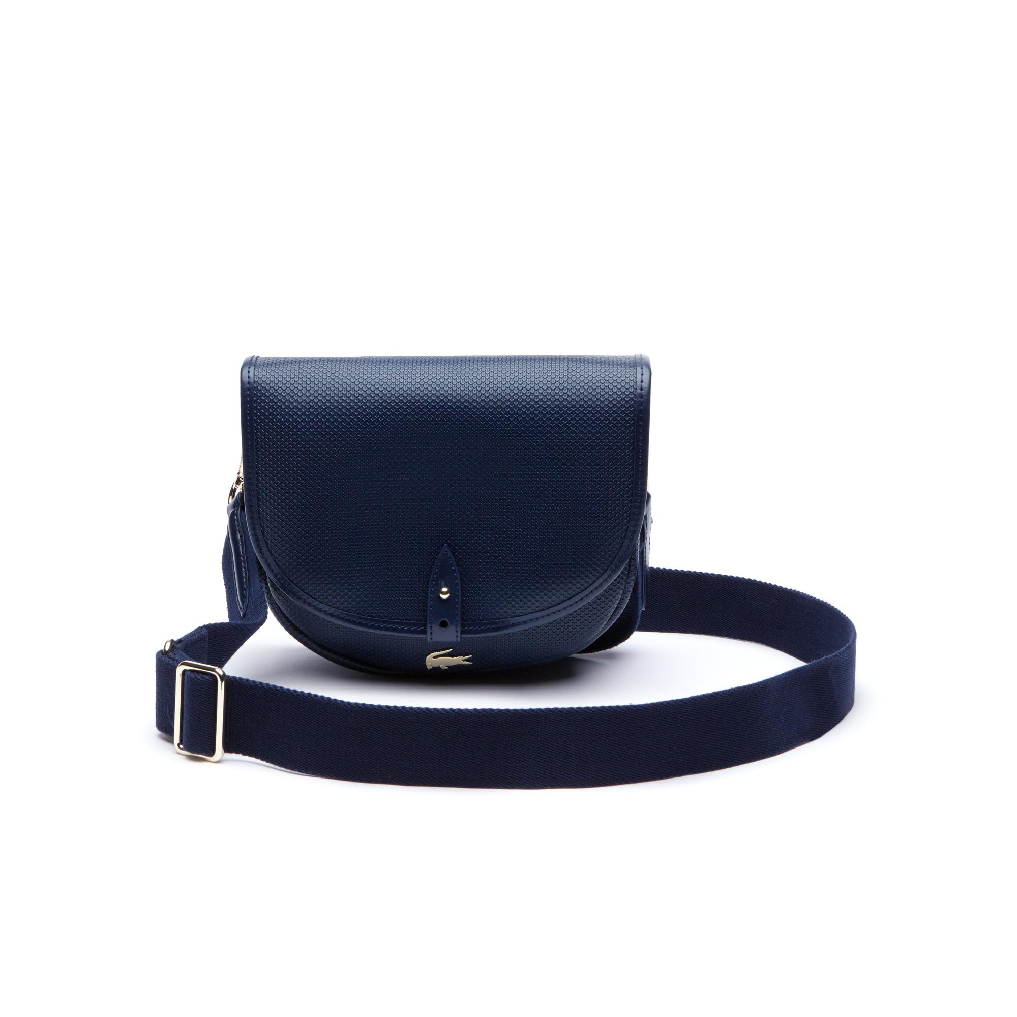 женская сумка lacoste, синяя