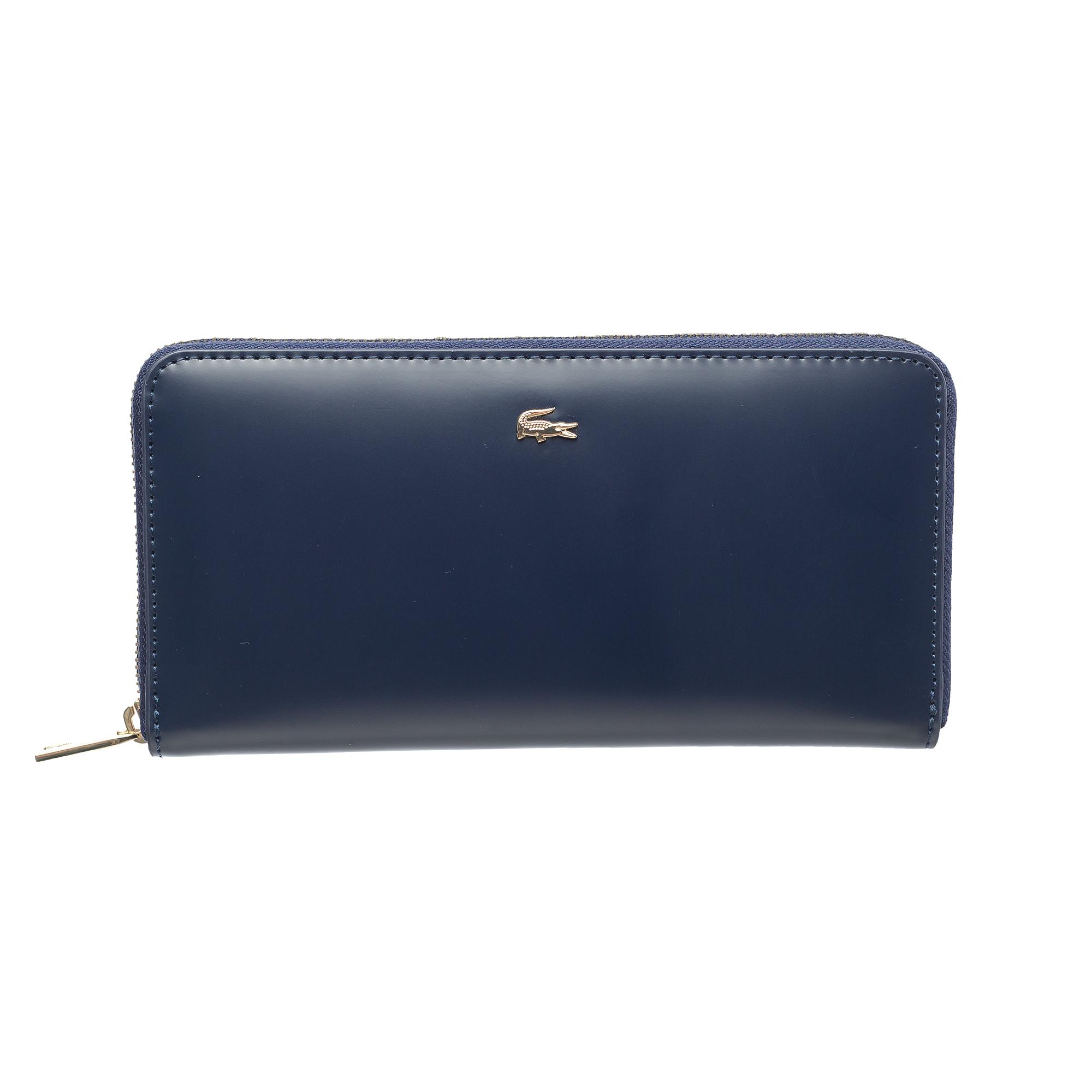 женский кошелёк lacoste, синий