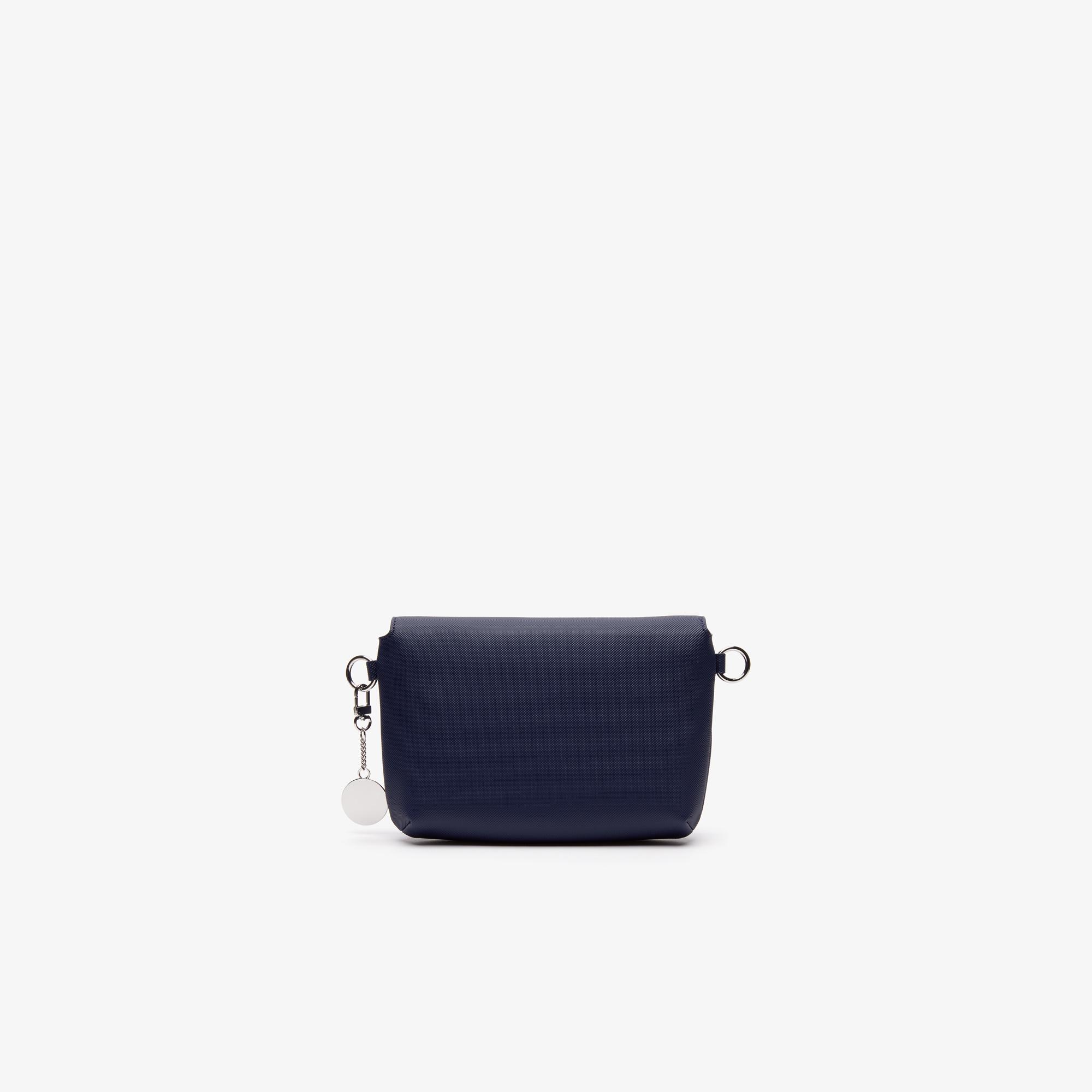 Фото 2 - Сумку Lacoste DAILY CLASSIC темно-синего цвета