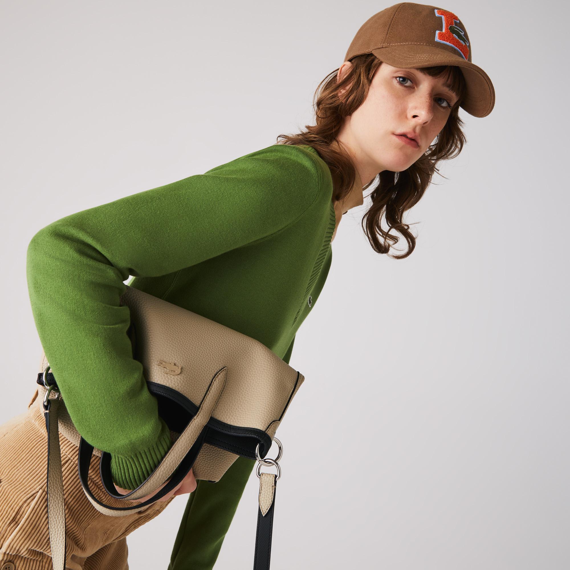 женская сумка lacoste, черная