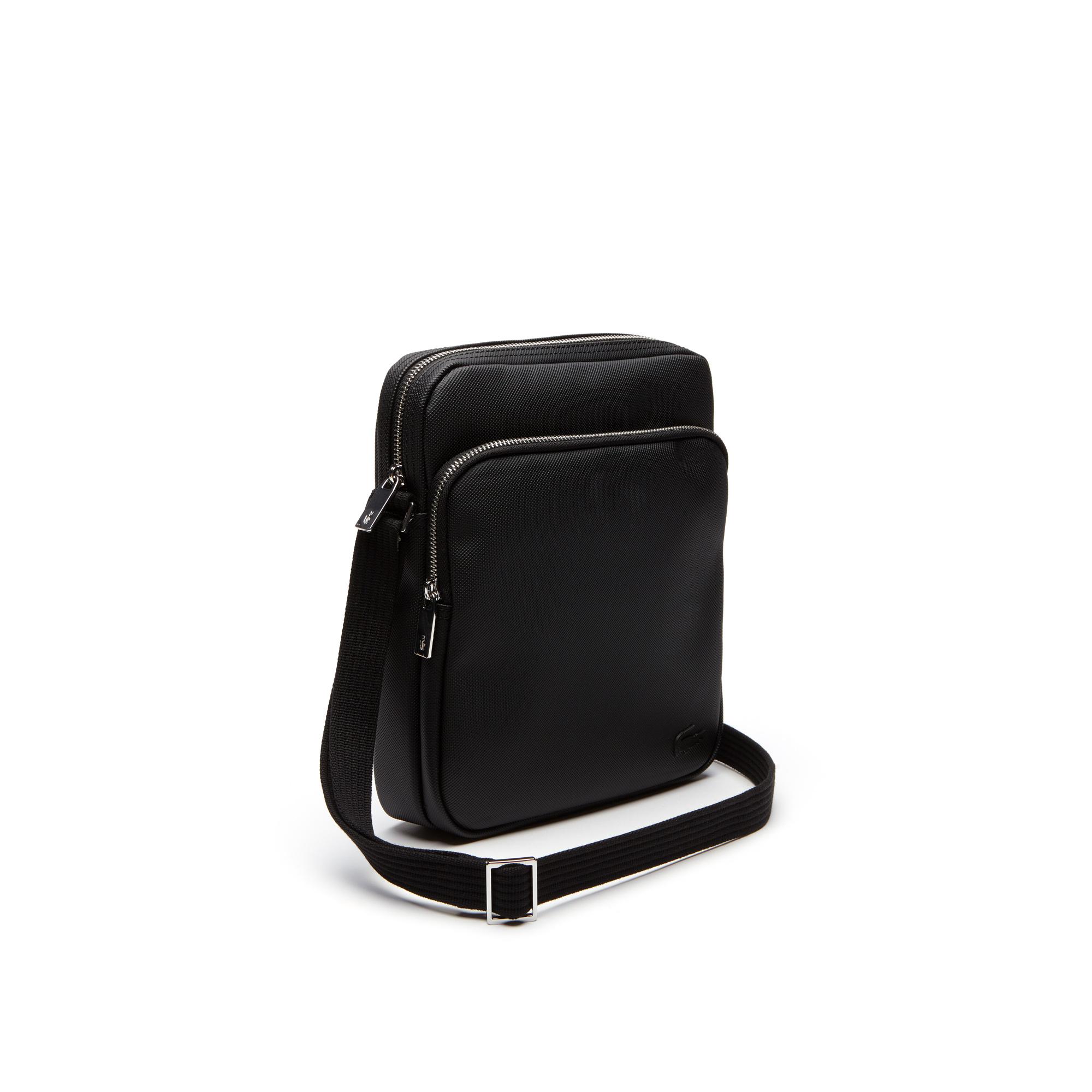 Сумка LacosteСумки и кошельки<br>Детали: мужская сумка с плечевым ремнем  \ Материал: 100% ПВХ \ Страна производства: Китай