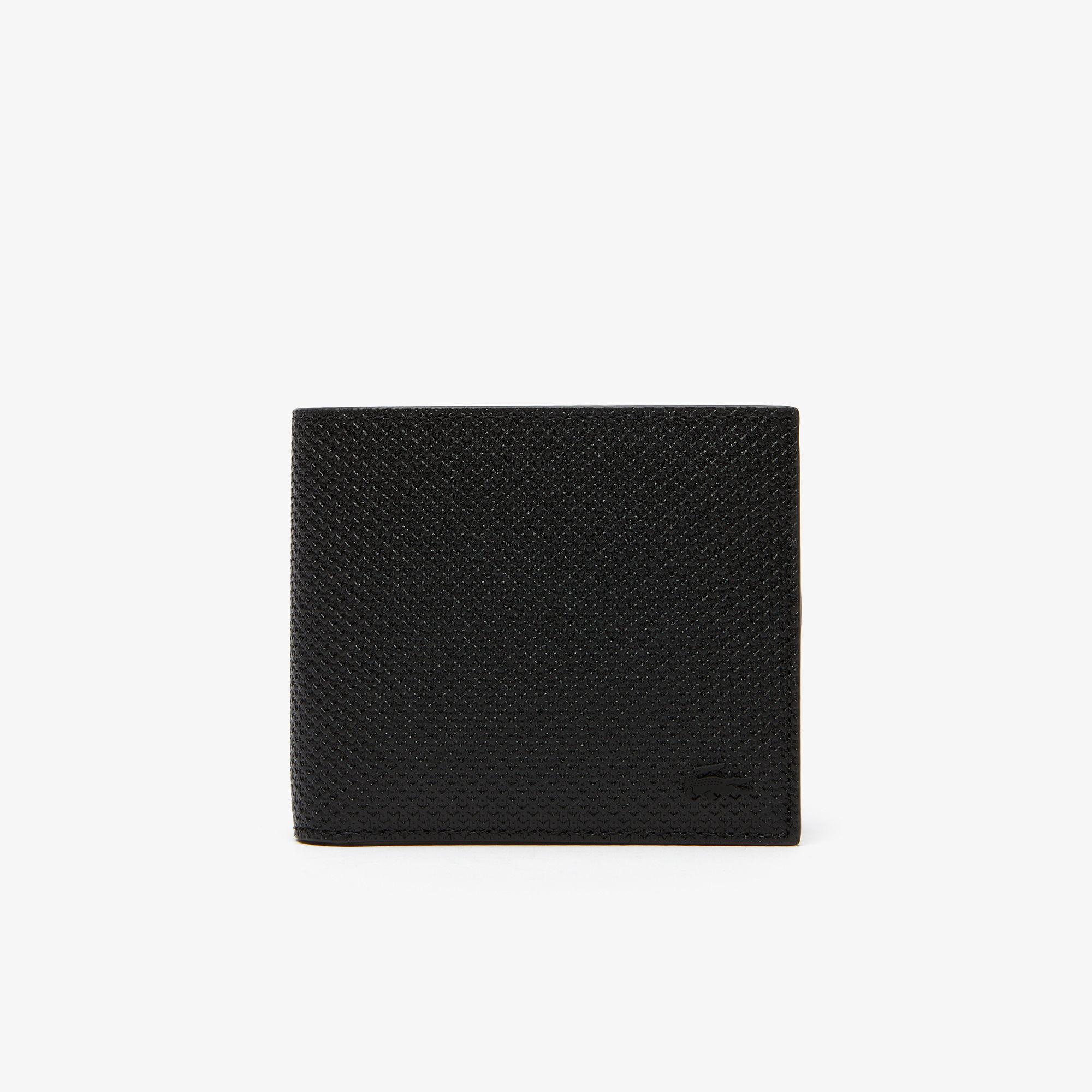 мужской кошелёк lacoste, черный