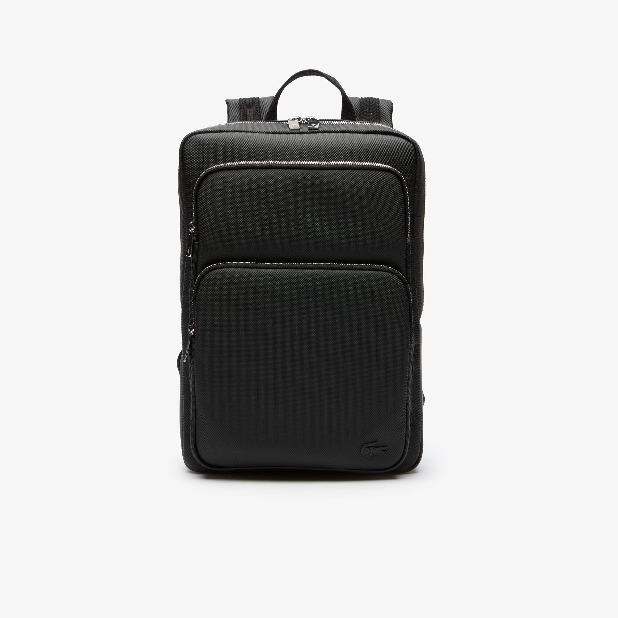мужская сумка lacoste, черная