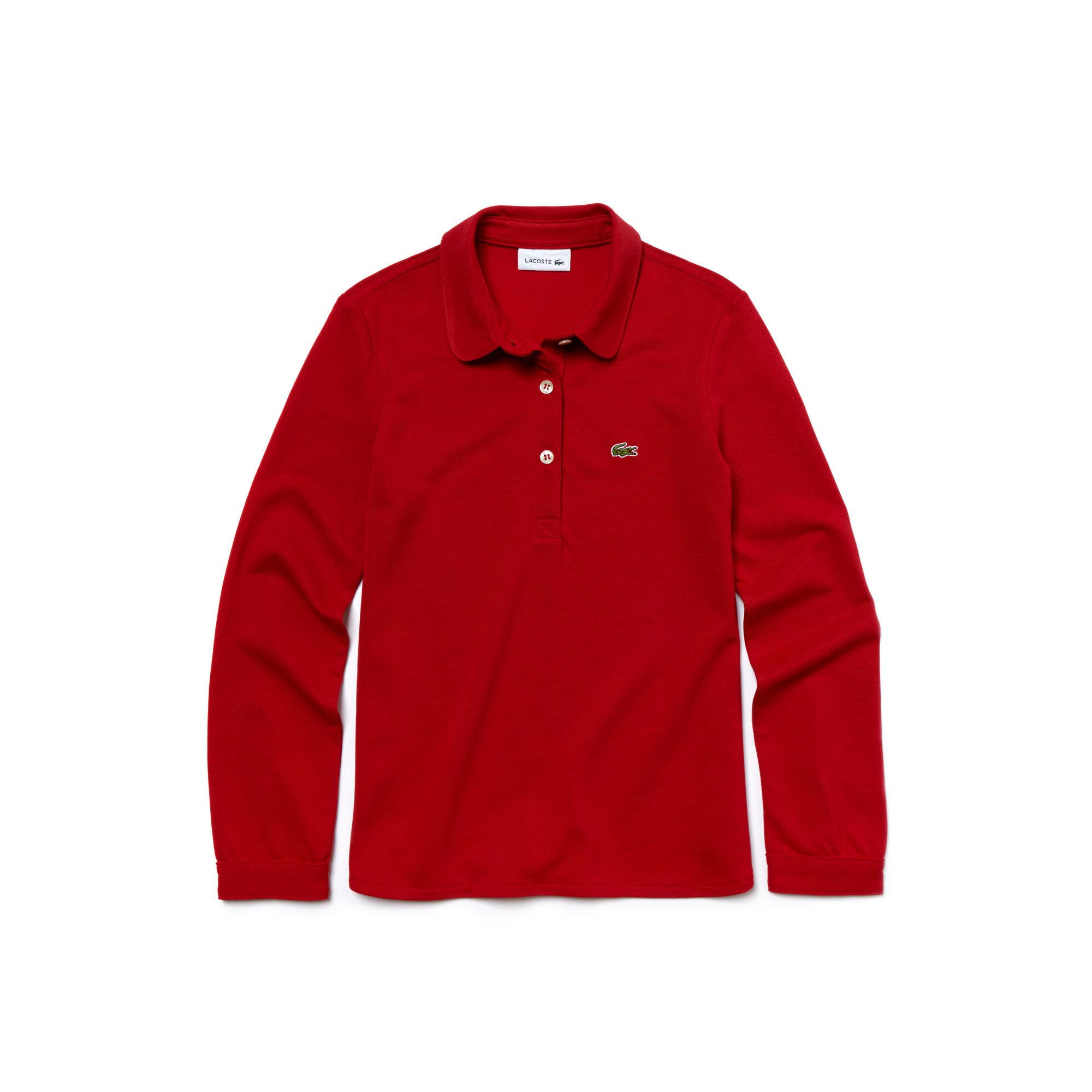 Купить Поло Lacoste, красный, PJ2972