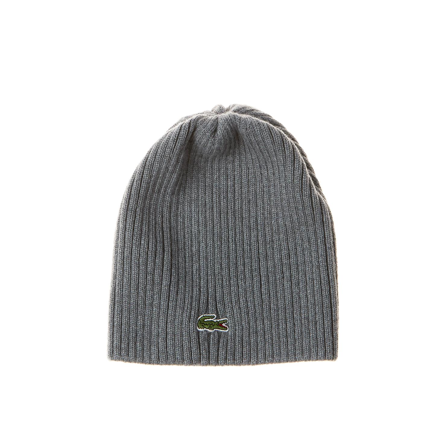Купить со скидкой Вязаная шапка Lacoste