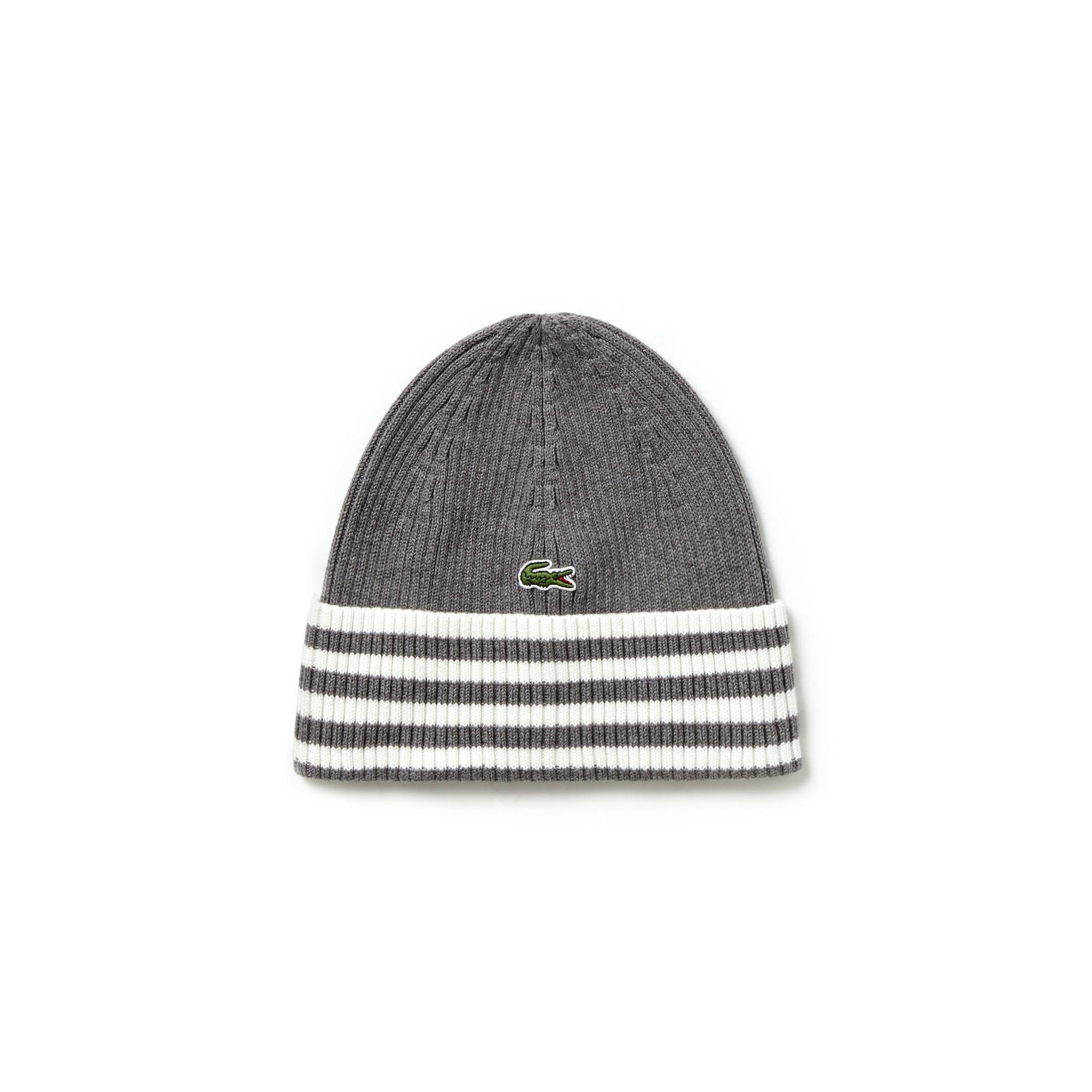 Вязаная шапка LacosteШапки, шарфы и перчатки<br>100% шерсть