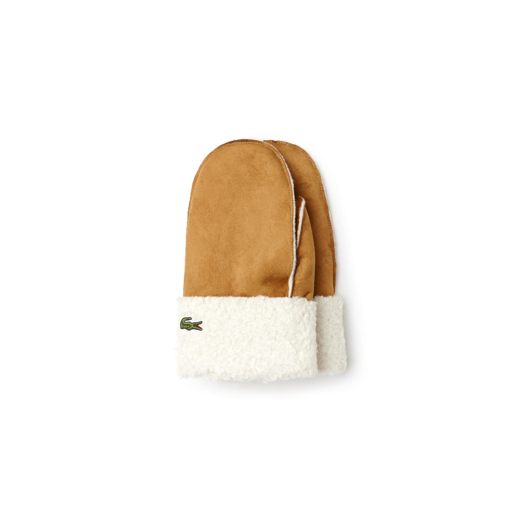 Купить Перчатки Lacoste, коричневый, RV9421