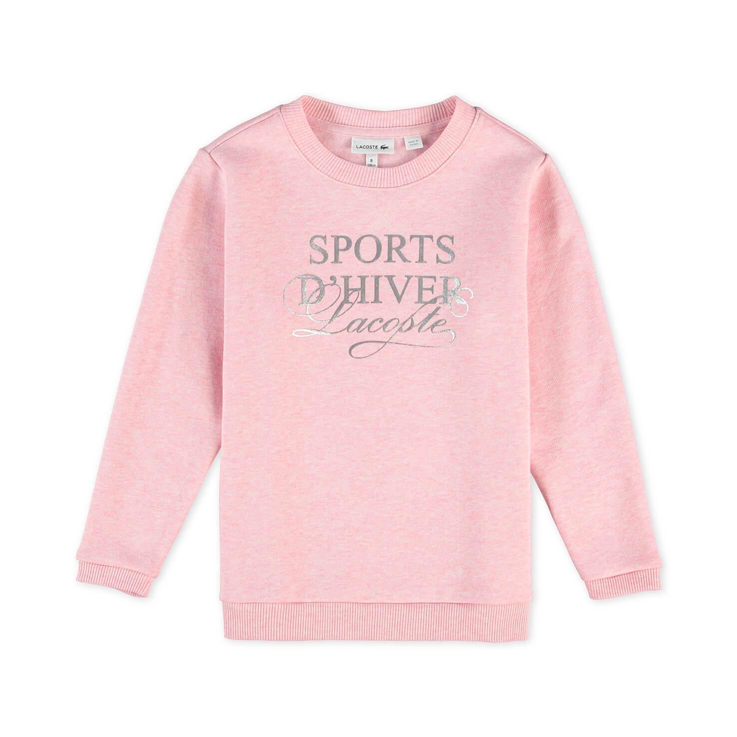 Купить Толстовка Lacoste, розовый, SJ9682