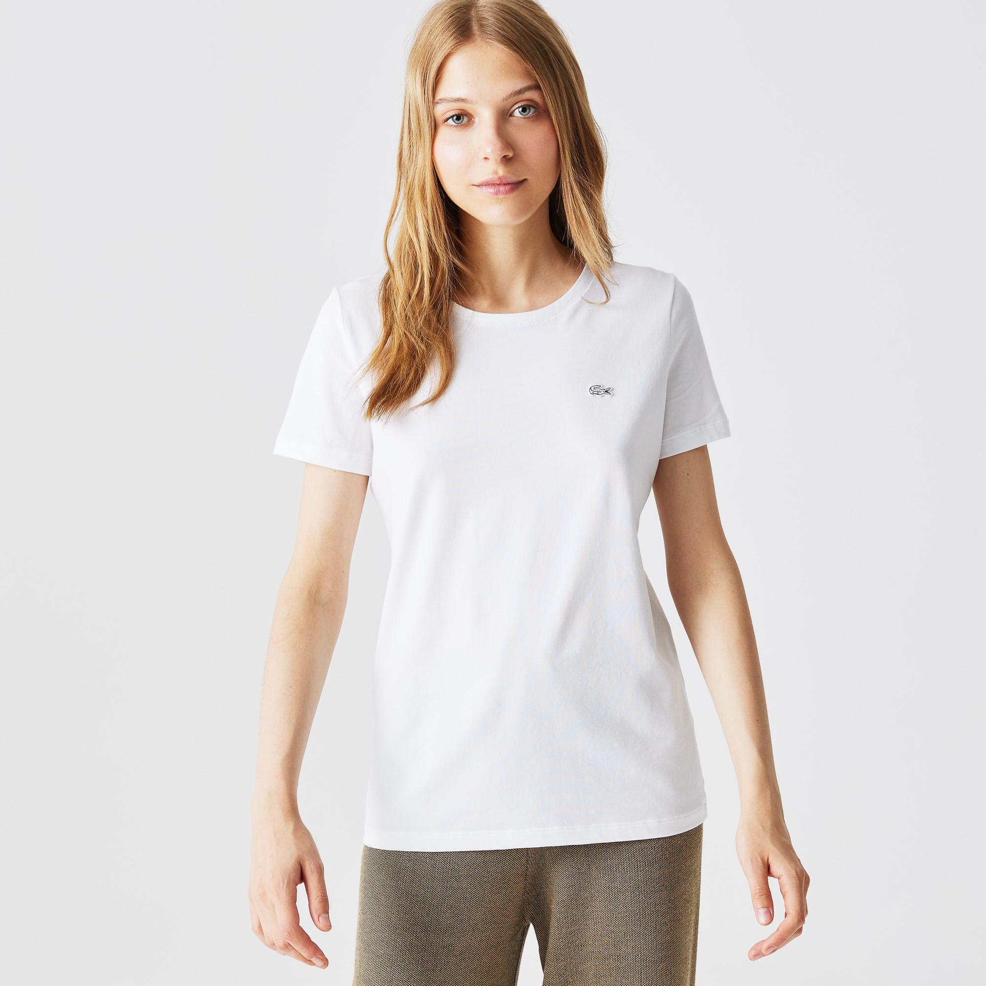 мужская футболка lacoste, белая