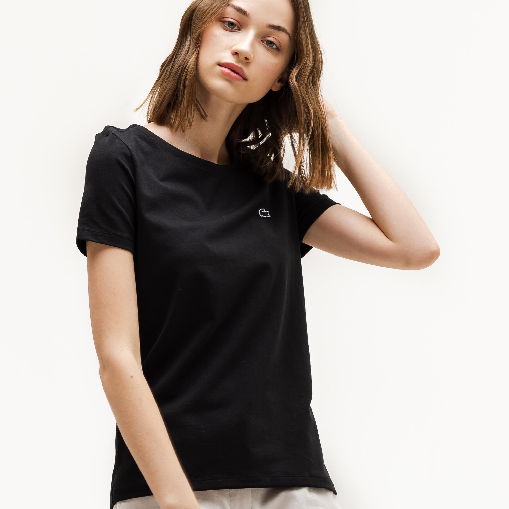 мужская футболка lacoste, черная