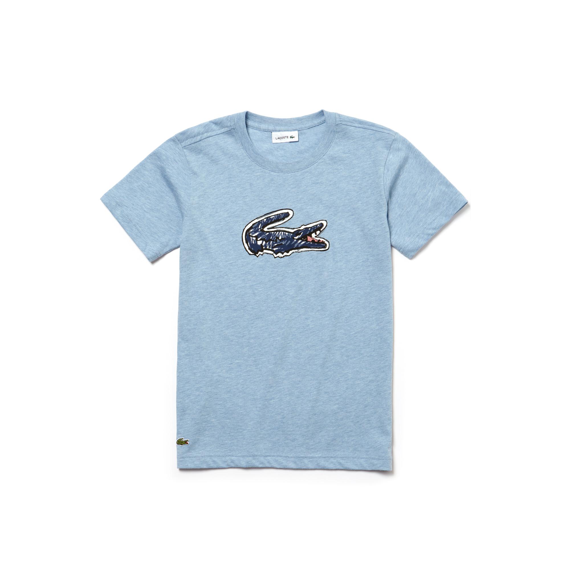 Купить Футболка Lacoste, голубой, TJ3860