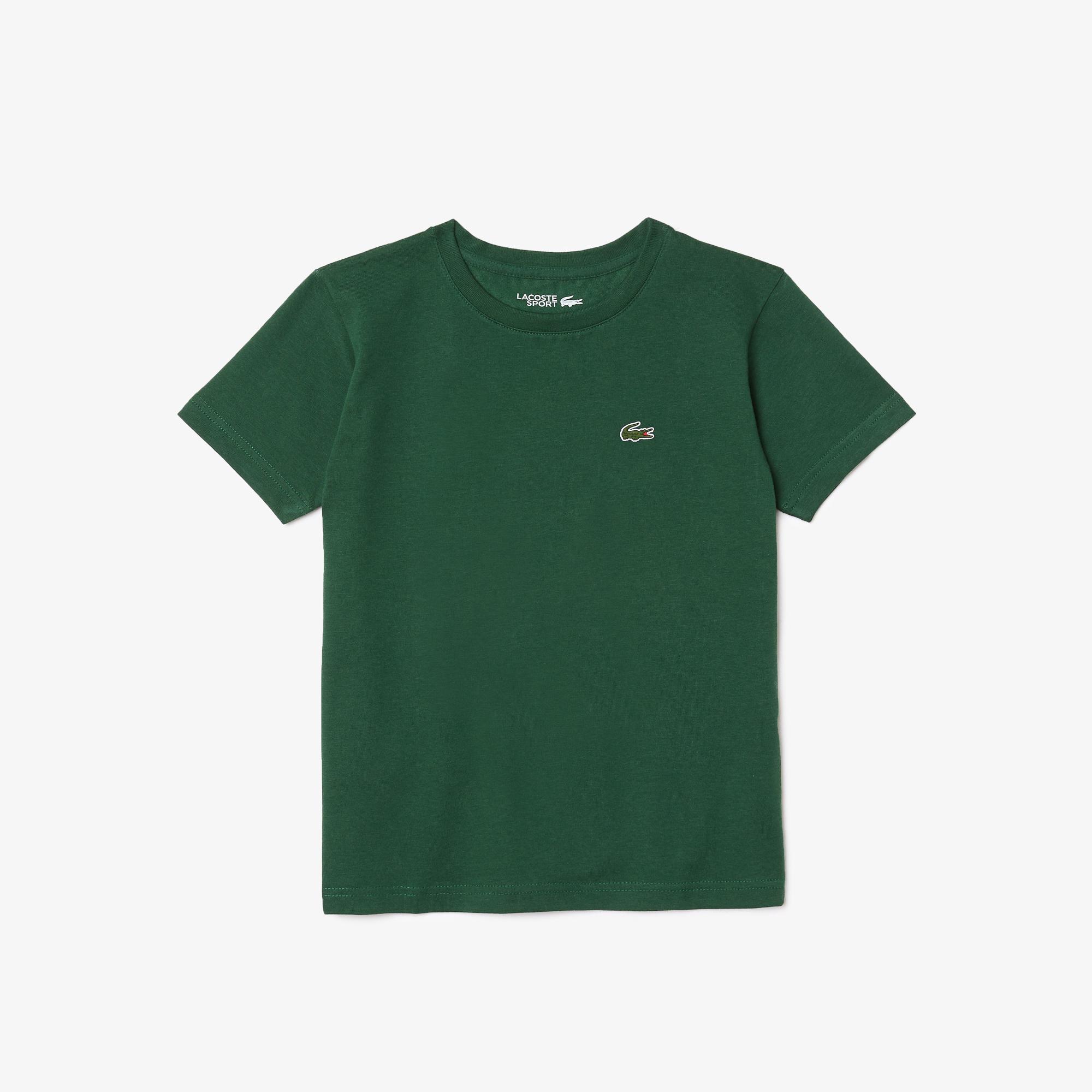 мужская футболка lacoste, зеленая