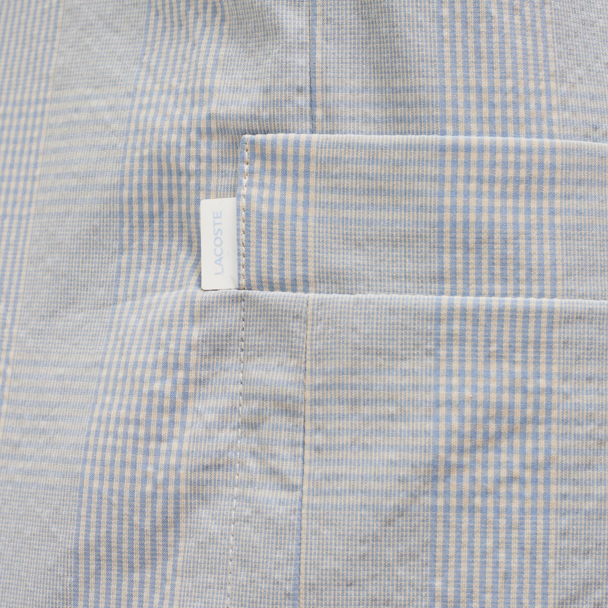 Фото 4 - Пиджак Lacoste голубого цвета