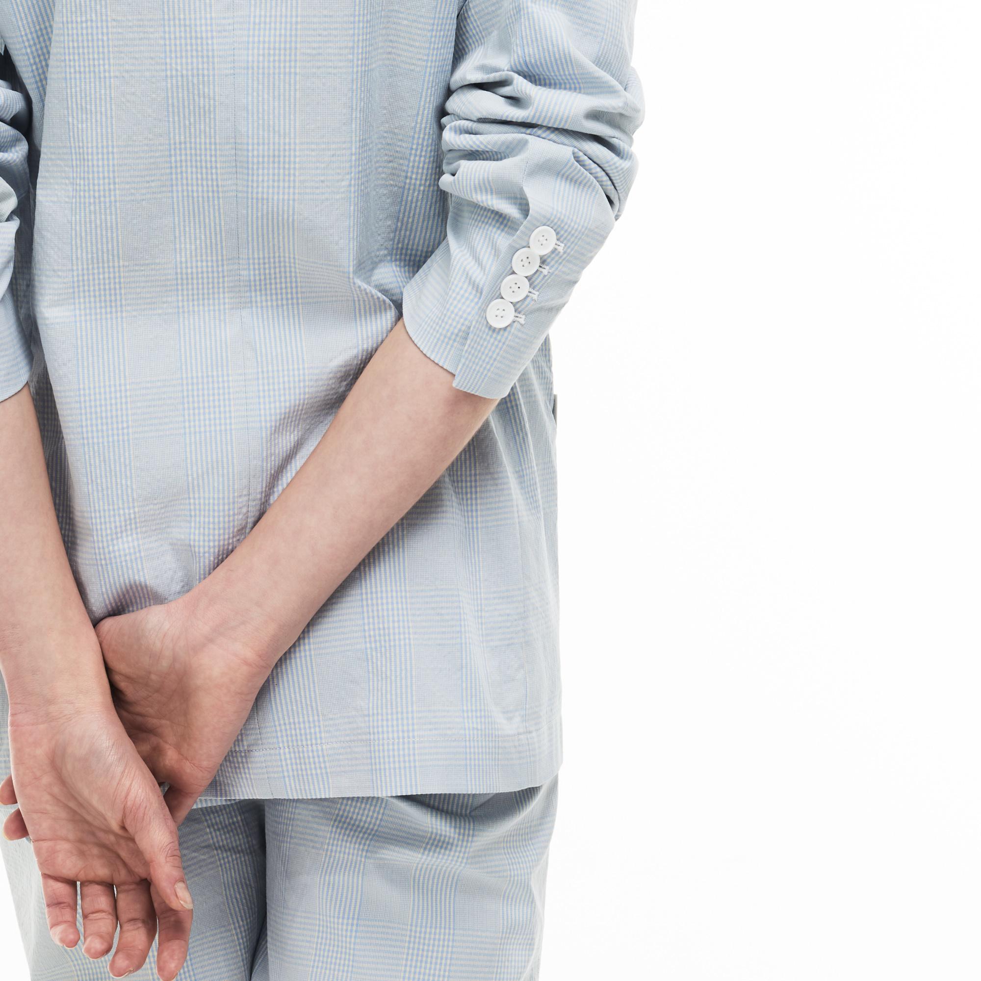Фото 5 - Пиджак Lacoste голубого цвета