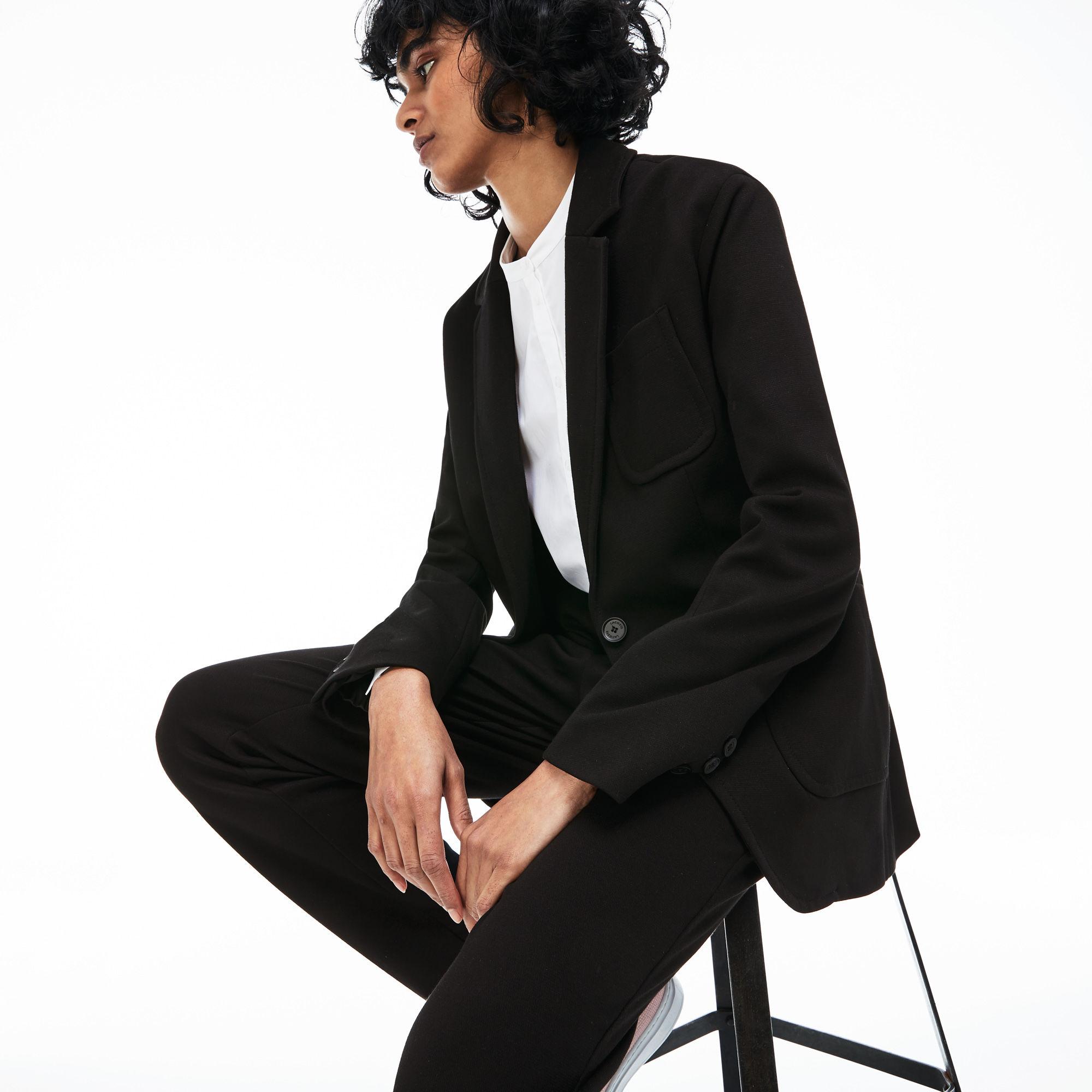 женский пиджак lacoste
