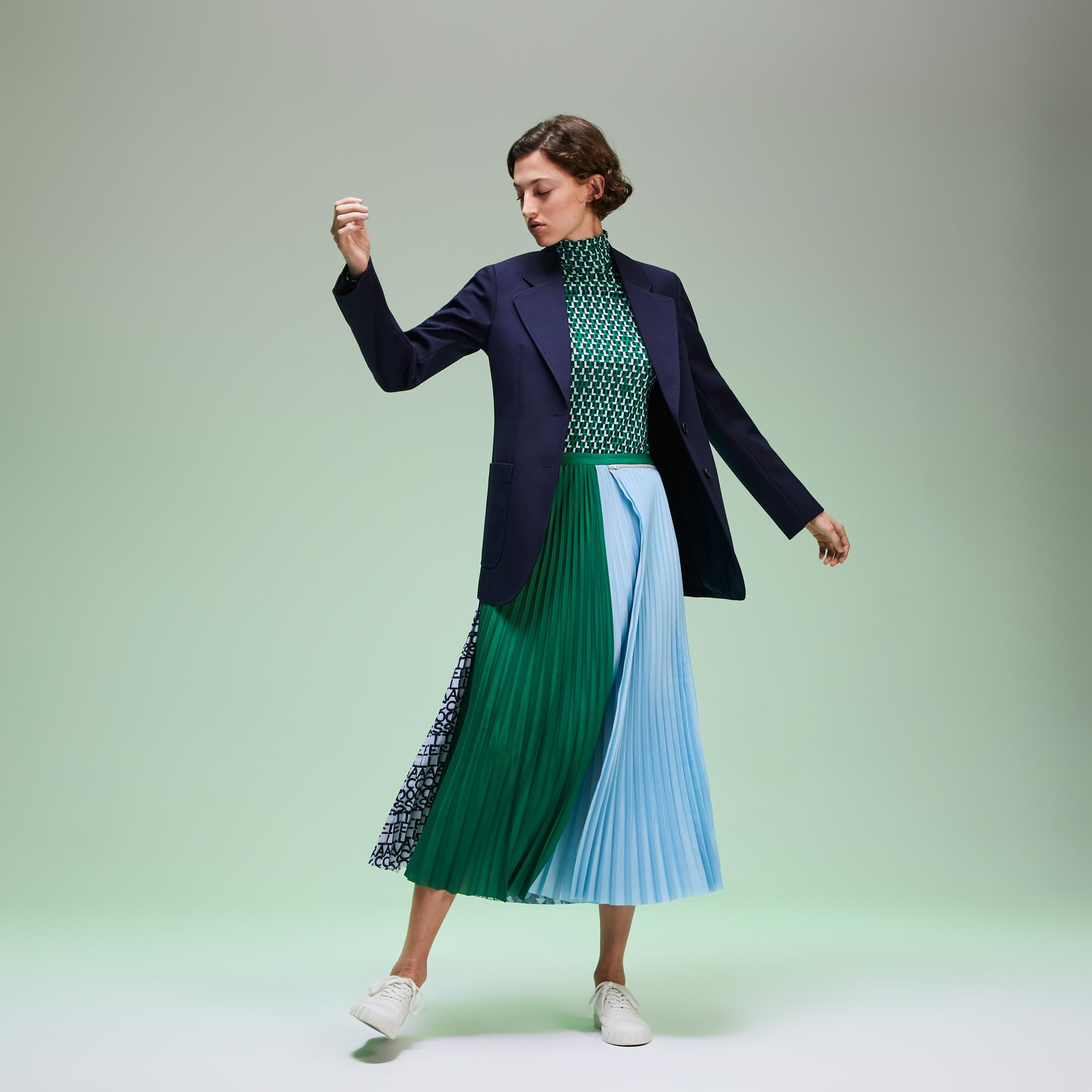 женский пиджак lacoste, синий