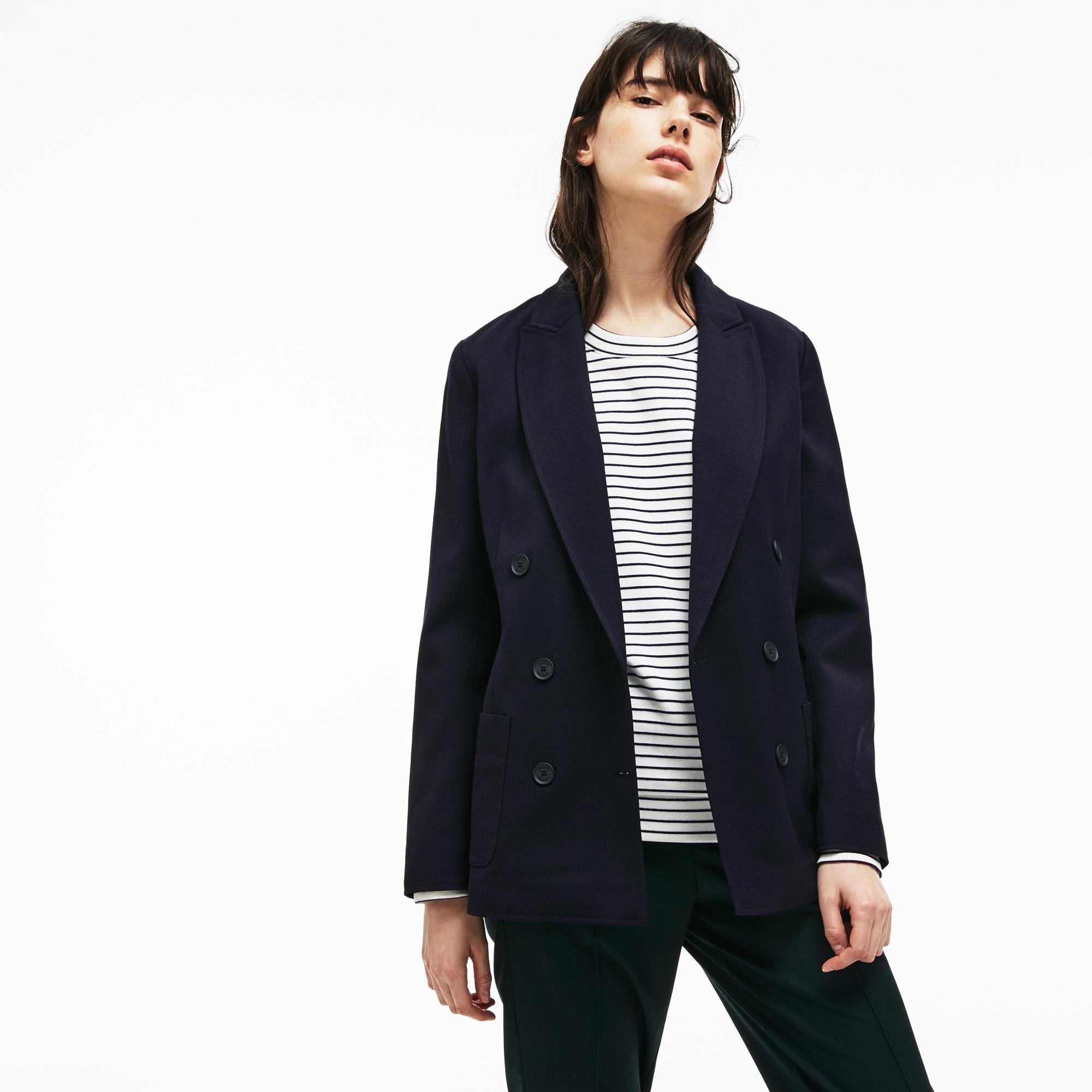 Пиджак LacosteВерхняя одежда<br>44% вискоза 35% шерсть 19% полиэстер 2% эластан 100% хлопок 100% полиэстер