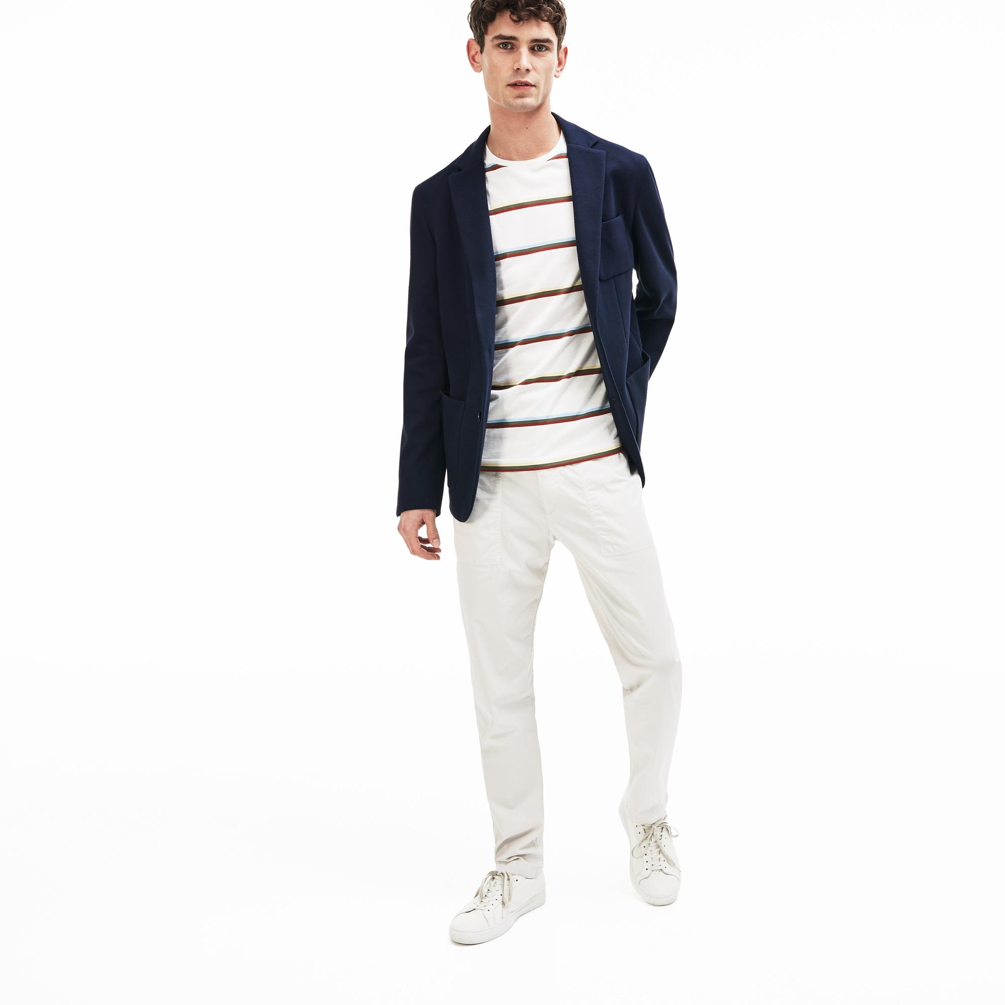 мужской пиджак lacoste, синий