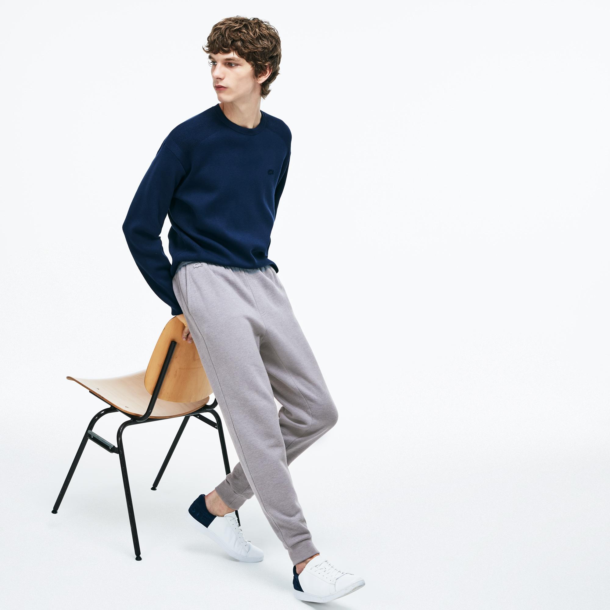 Фото - Спортивные штаны Lacoste серого цвета